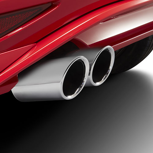 Volkswagen Chrome Exhaust Tips | VW Service and Parts