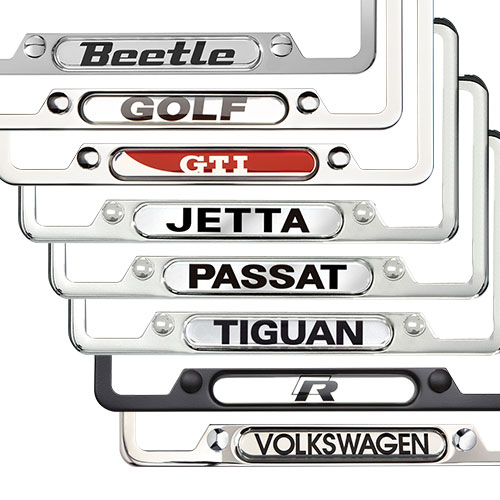 volkswagen license plate frames
