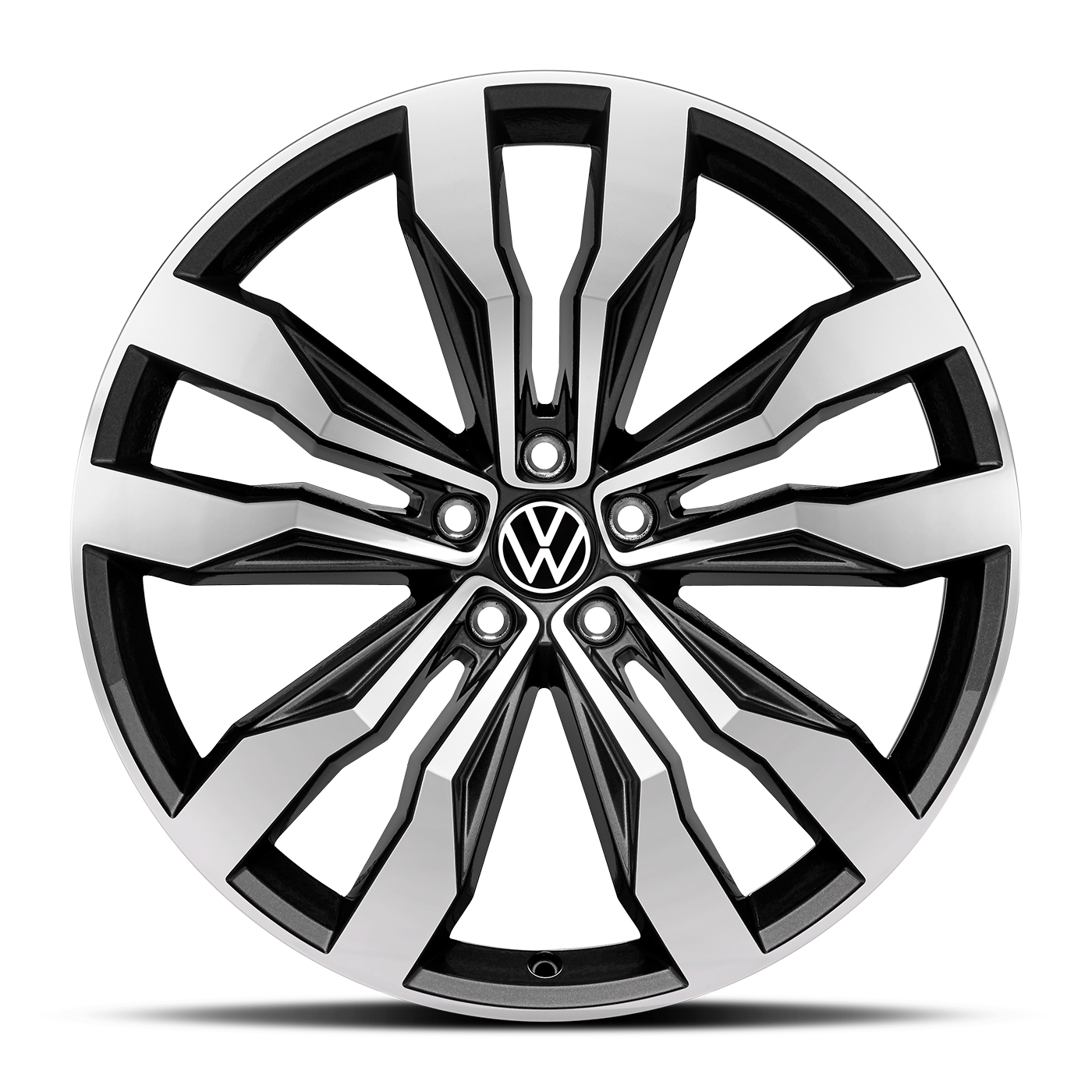 "Volkswagen 21"" Two-Tone Machined Wheel 