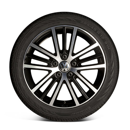 "Volkswagen 17"" Onyx Wheel 