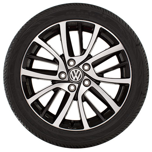 Volkswagen 17 Blade Wheels | VW Service and Parts