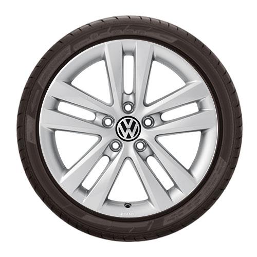 """Volkswagen 17"""" Akiros Wheel"""
