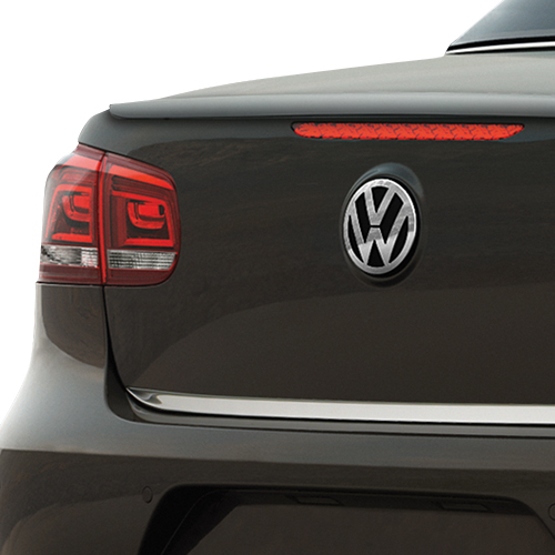 Volkswagen Chrome Look Rear Accent Strip | VW Service and Parts