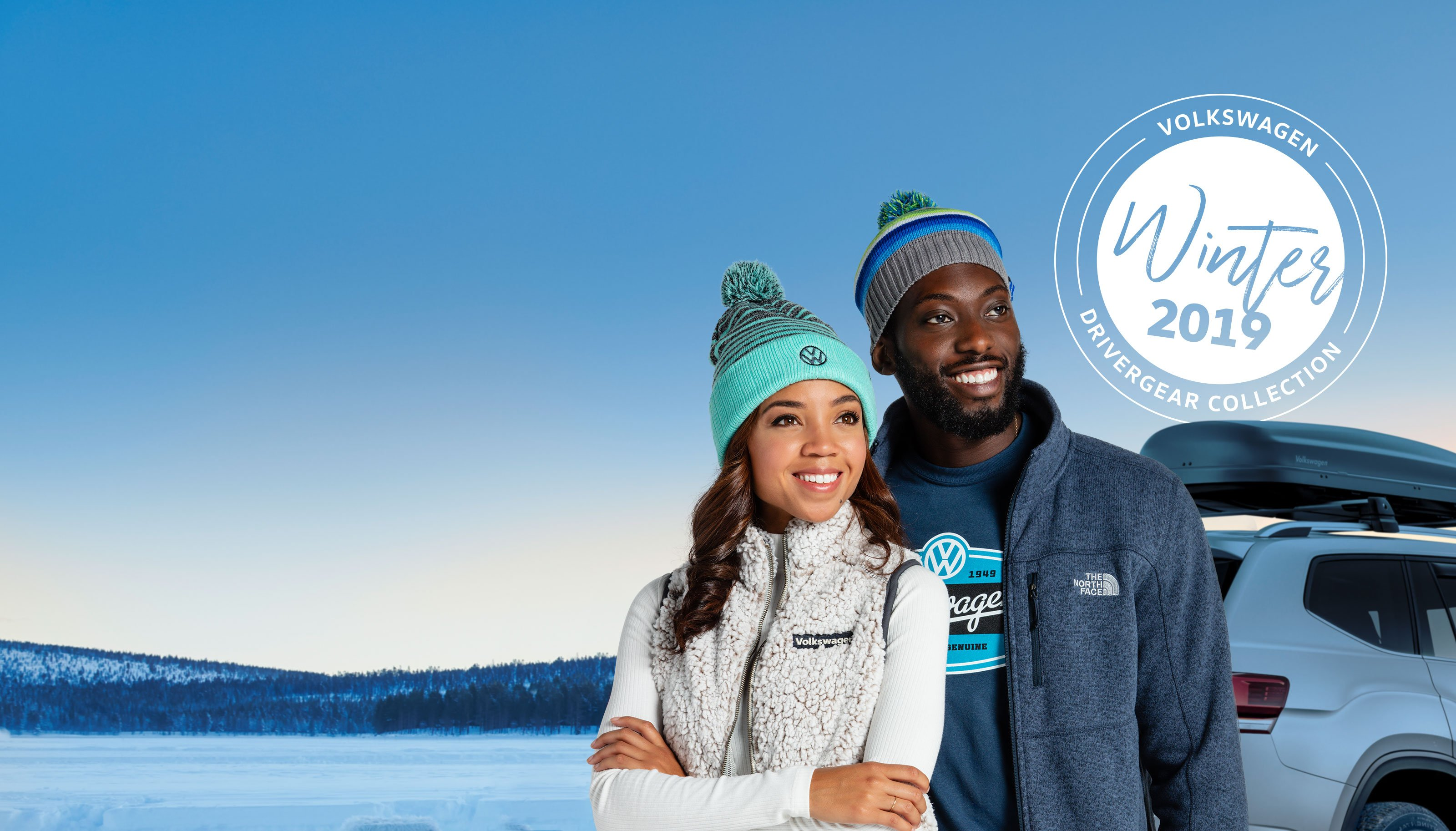 Winter 2019 VW DriverGear Collection: Your Style. In Peak Form.