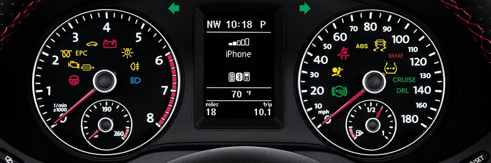 volkswagen dashboard lights  warning icons symbols