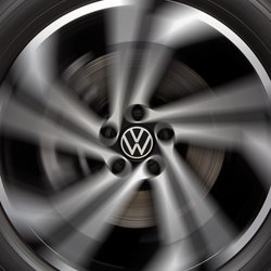 Volkswagen Dynamic Wheel Center Caps | VW Service and Parts