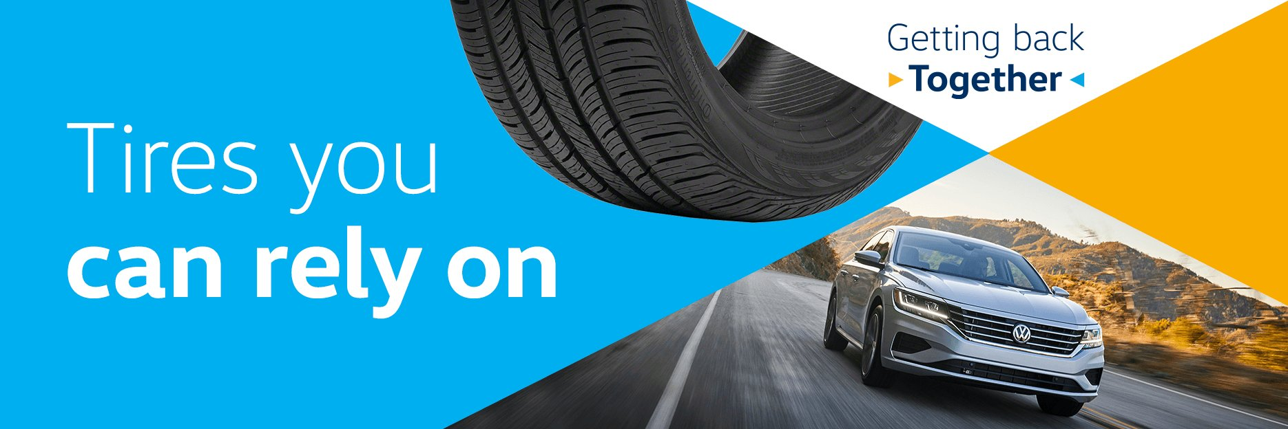 A great deal on Volkswagen Recommended Tires can help give you a fresh start
