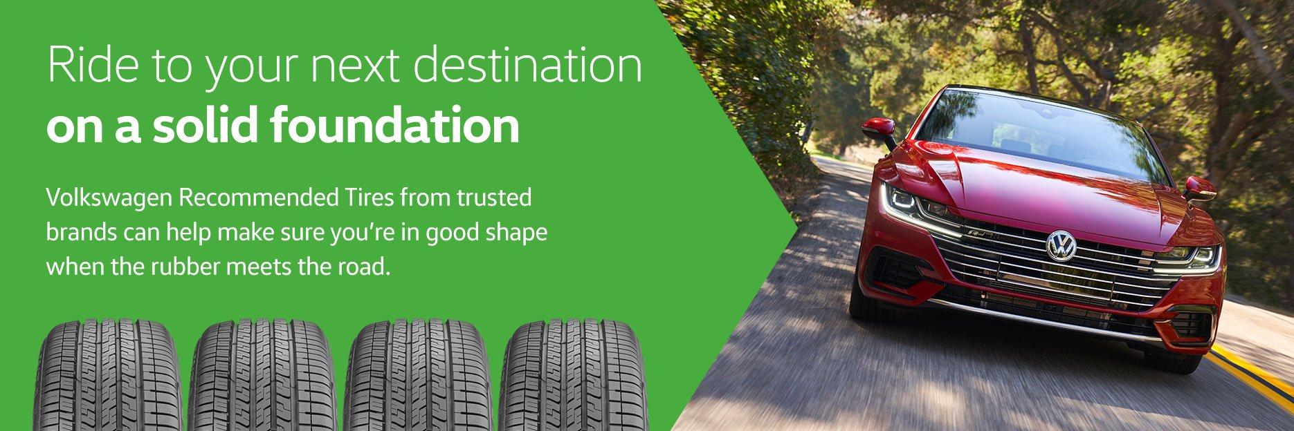 Volkswagen Recommended Tires