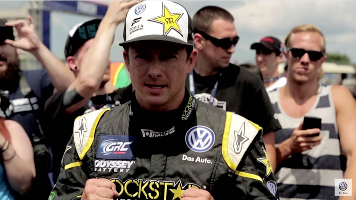 VW Rallycross Team: Tanner Foust | VW Service and Parts Videos