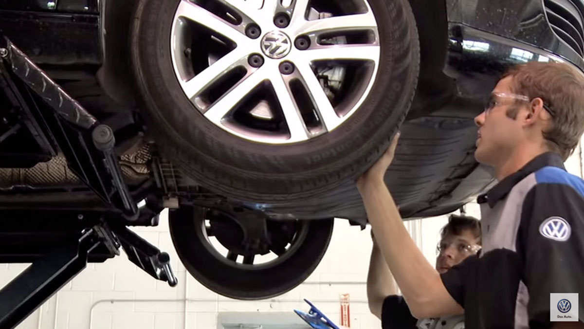 Inspecting Your Tire Tread