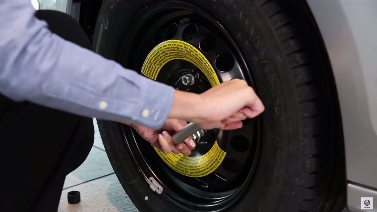 How to Change a Tire | Official VW Service and Parts Videos