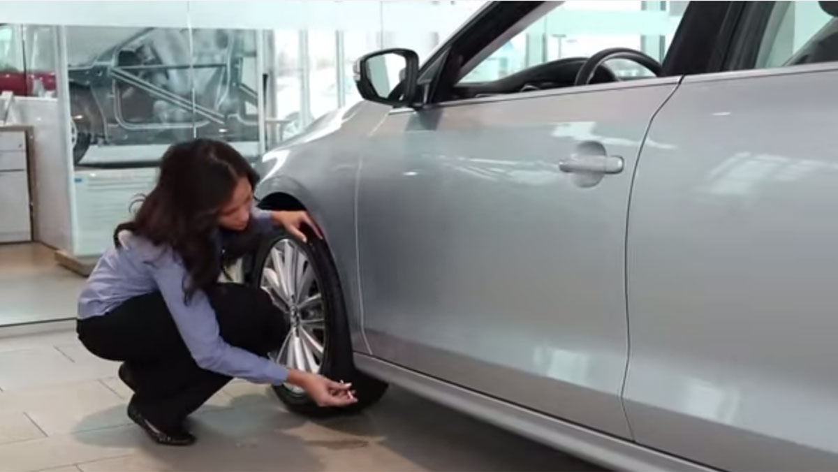 How to Check for Tire Wear | Official VW Service and Parts Videos